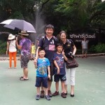 Mr Raymond and family - Singaporean customer
