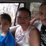 Khun Kea and family - Thai customer