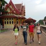Wan Fen and friends - Malaysian customer