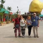 Genta and family - Malaysian customer