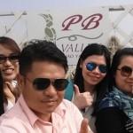 Ms. Hue and friends - Malaysian customer