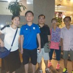 Shalyn Yang and family - Singaporean customer