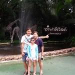 Christine Ten and family - Singaporean customer
