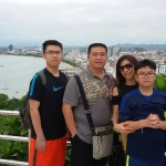 Mr Breemans and family - Indonesian customer