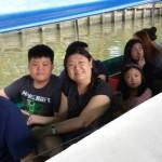 Michael and family - Filipino customer