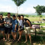 Eling and friends - Malaysian customer