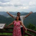 Sitansu Mishra and wife - Indian customer