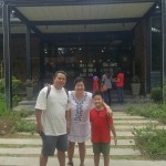 Seah and family - Malaysian customer