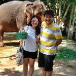 Michelle Garcia and husband - Singaporean customer