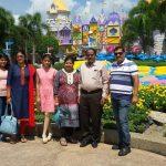 Aswini Dash and family - Indian customer