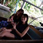 Valerie and friend - Singaporean customer